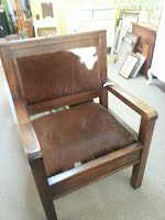 Cow Hide Chair $300