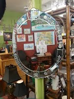 Belgium glass Mirror $65